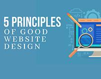 5 Principles Of Good Website Design