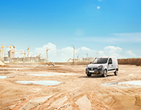 RENAULT Comercial vehicles Retouching & Composition