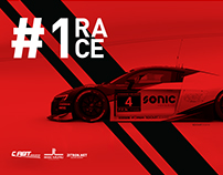 BRANDING FOR RACE DRIVERS & TEAM RACERS