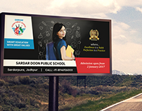 Sardar School - Hoardings