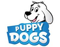 Puppy Dogs Logo Design