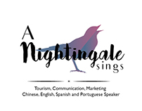A Nightingale Sings - Logo and business card