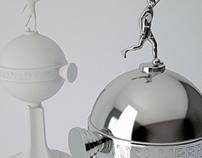 Copa Libertadores Trophy 3D Model