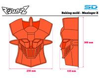"""Mazinger-Z"" silicon tray"