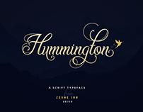 Hummington - Script Typeface
