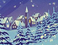 Mercedes Benz Christmas Card 2017