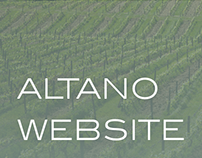 Altano Website Redesign
