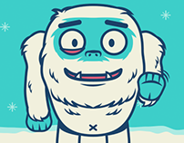 Herman the Yeti - Kik Messenger Sticker Pack