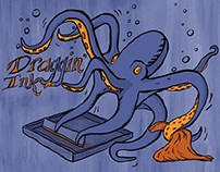 AIGA Event Illustration: Draggin' Ink