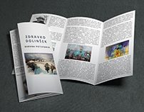 BROCHURE DESIGN for painter
