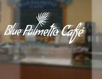 Blue Palmetto Café rebrand