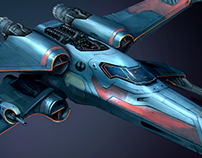 Next generation Aero X-Wing