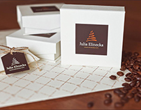 Brand and packagingfor the photographer Julia Elinecka