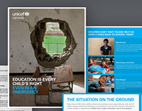 Unicef Canada - Direct Response Campaigns
