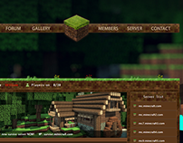 Old Minecraft server template