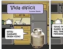 Vida Difícil - comics (out/2019)