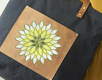 GORGEOUS YELLOW AND WHITE FLOWER EMBROIDERY DESIGN