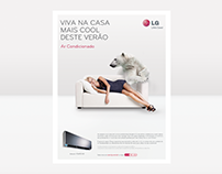 LG - Air conditioner advertising