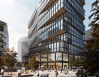 Amazon's Boston Office - Architectural Visualization