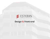 Esteban, Especialista en ventanas - web design