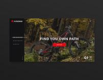 Kross website redesign