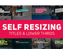 Auto Resizing Titles and Lower Thirds