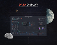 Large screen for data monitoring