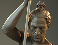 Digital Figure Sculpture course. Final project.