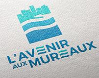 Logotype L'Avenir aux Mureaux - Sofia Doudine création