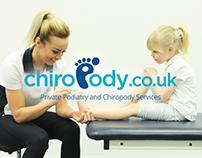 Chiropody.co.uk | Branding