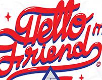 """Artwork """"Hello my friend"""""""