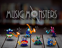 Mr. Sax and Music Monster|Product & Story