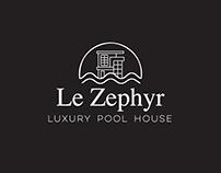 Le Zephyr Chania - Logo Design
