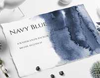 Navy Blue Ombre Textures