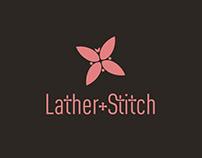 Lather and Stitch Logo