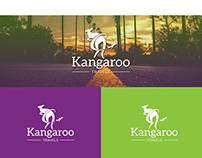 Kangaroo Travel LOGO Design