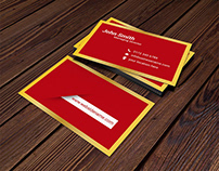Luxury Business Card Design.