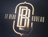 LE BEAU BUREAU - copper foil flyer