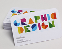 Print Production Practice : Business Card Design