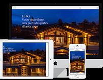 Site OnePage : Le K2 - Vente Immobilière