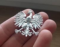 Eagle (3d modeling, rendering, 3d printing, casting)