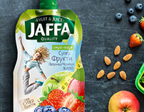 Smoothie puree packaging design