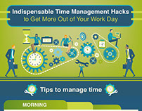 Time Management Hacks | INFOGRAPHIC