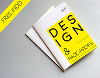 Design page-proofs, Free brochure
