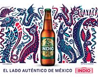 Carteleras Cerveza Indio - México Unido
