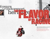 MotoGP Corporate Marquee Interior Walls