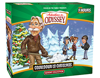 """Adventures in Odyssey """"Countdown to Christmas"""" Package"""