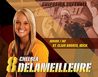 CMU Softball Player Profile