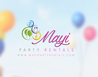 Site web Mayi Party Rentals / Miami