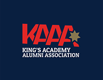 Rebranding King's Academy Alumni Association Logo